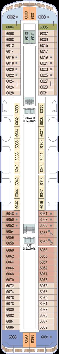Azamara Journey: Deck 6