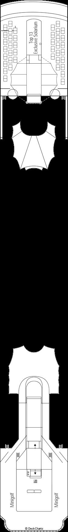 MSC Lirica: Sun Deck