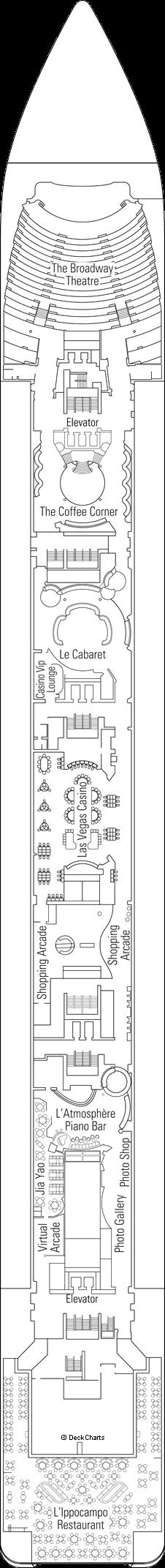 MSC Lirica: Puccini Deck