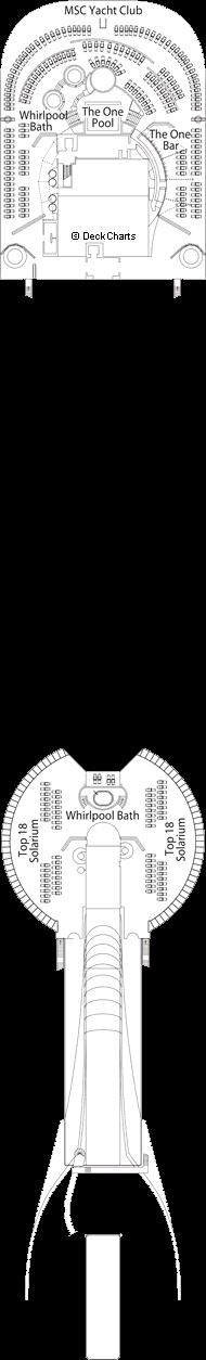 MSC Preziosa: Topazio Deck