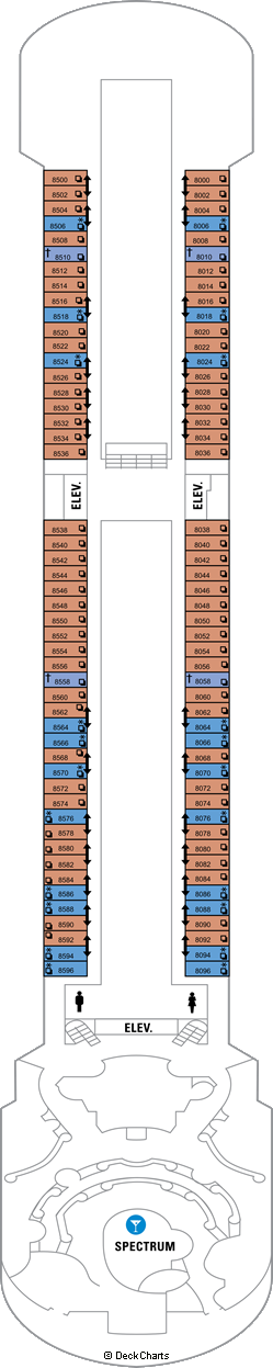 Majesty of the Seas: Deck 8