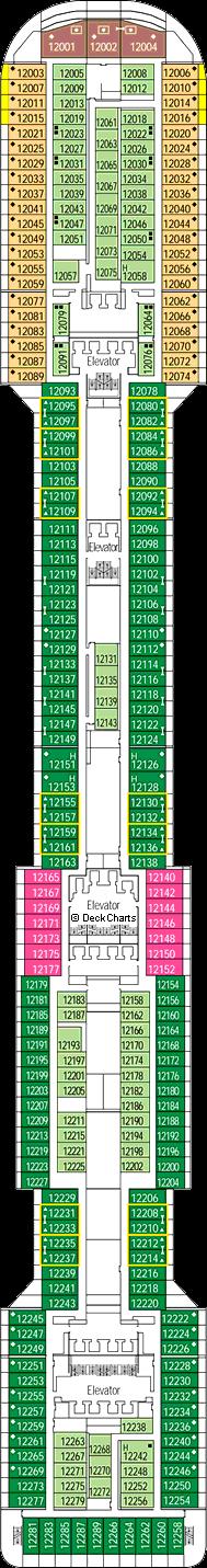 MSC Divina: Aurora Deck