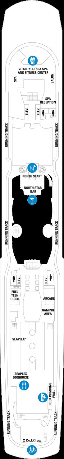 Quantum of the Seas: Deck 15