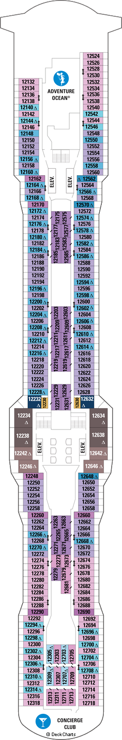 Ovation of the Seas: Deck 12