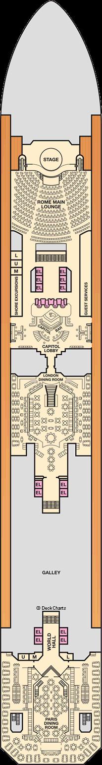 Carnival Triumph: Lobby Deck