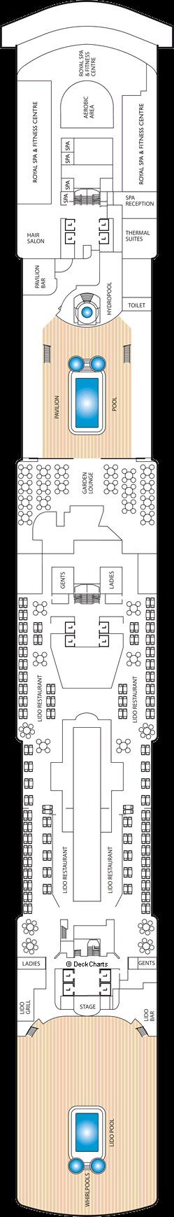 Queen Elizabeth: Deck 9