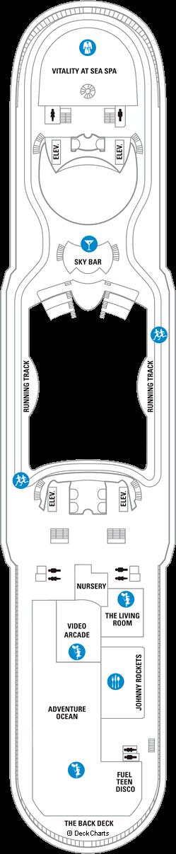 Mariner of the Seas: Deck 12