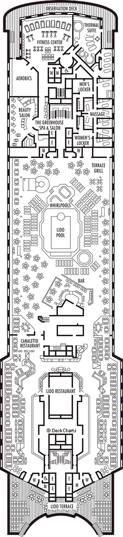 Maasdam: Lido Deck