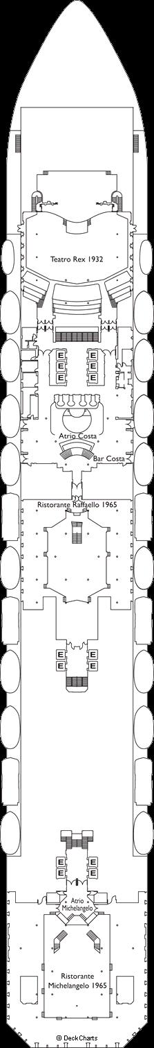 Costa Fortuna: Buenos Aires Deck