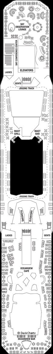 Celebrity Solstice: Lido Deck