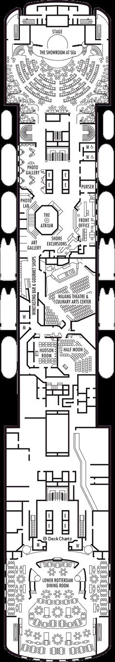 Maasdam: Promenade Deck