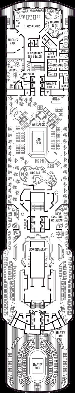 Volendam: Lido Deck
