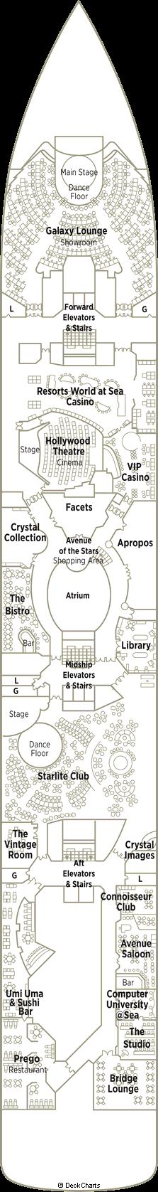 Crystal Symphony: Tiffany Deck