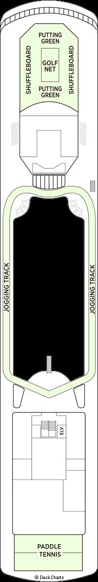 Seven Seas Voyager: Deck 12