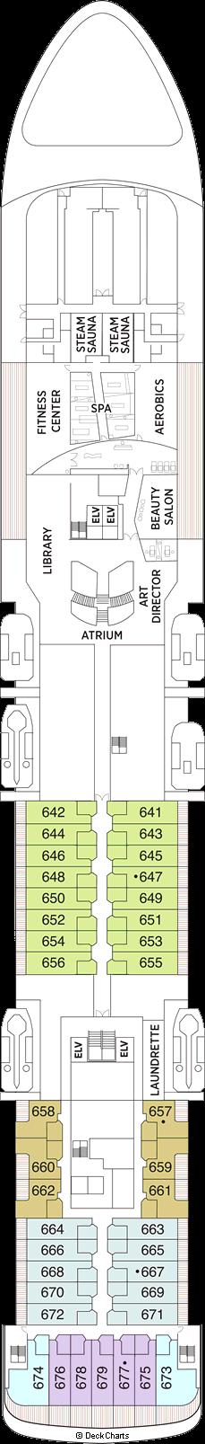 Seven Seas Voyager: Deck 6