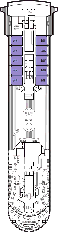 Prinsendam: Lido Deck