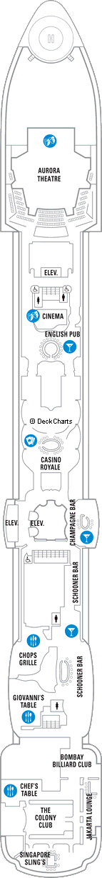 Radiance of the Seas: Deck 6