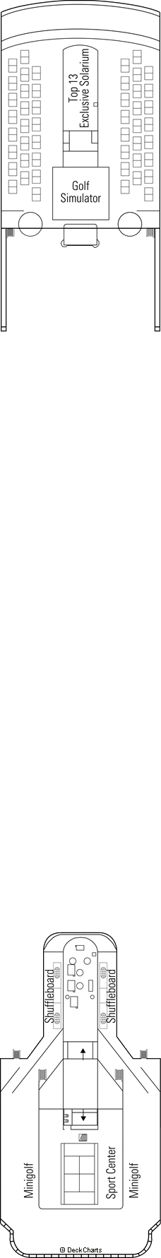 MSC Sinfonia: Schubert Deck