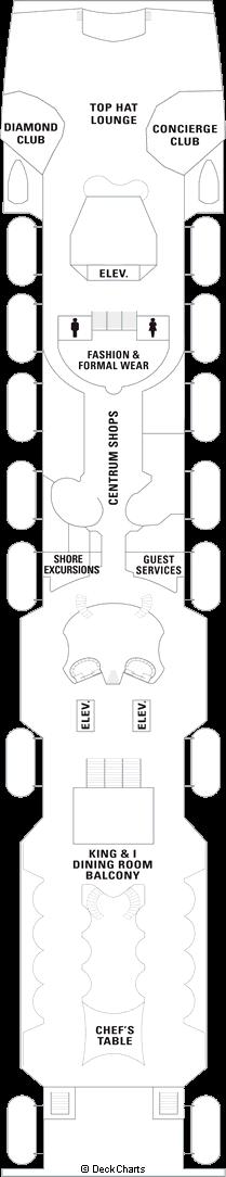 Splendour of the Seas: Deck 5
