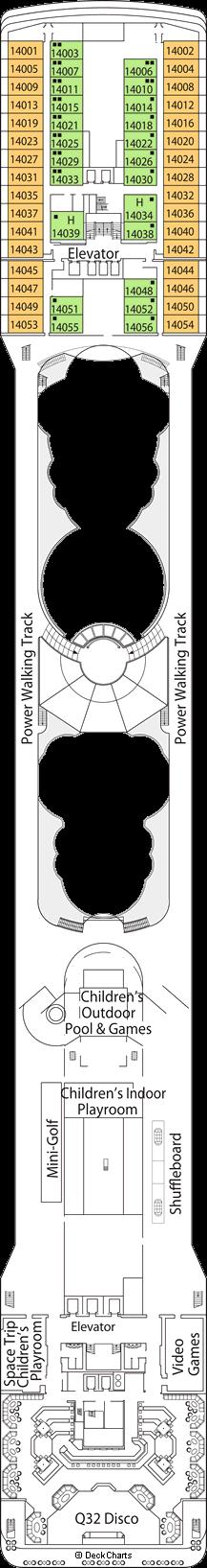 MSC Musica: Capriccio Deck