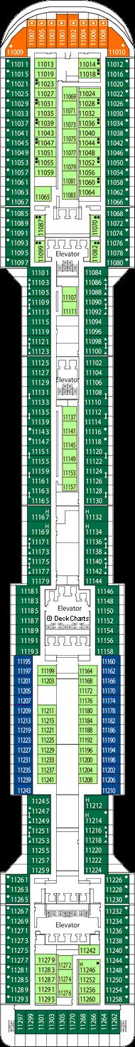 MSC Divina: Iride Deck