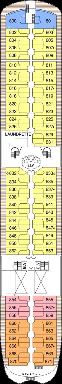 Seven Seas Navigator: Deck 8