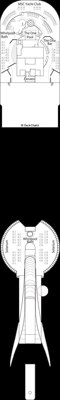 MSC Fantasia: Sun Deck
