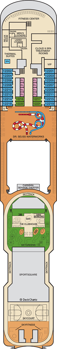Carnival Panorama : Deck 12