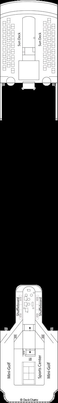 MSC Armonia: Schubert Deck / Games Deck
