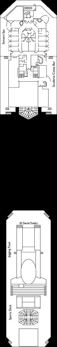 Costa Serena: Pegasus Deck