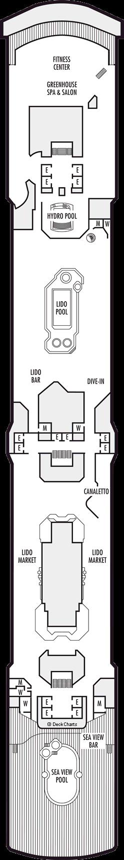 Oosterdam: Lido Deck