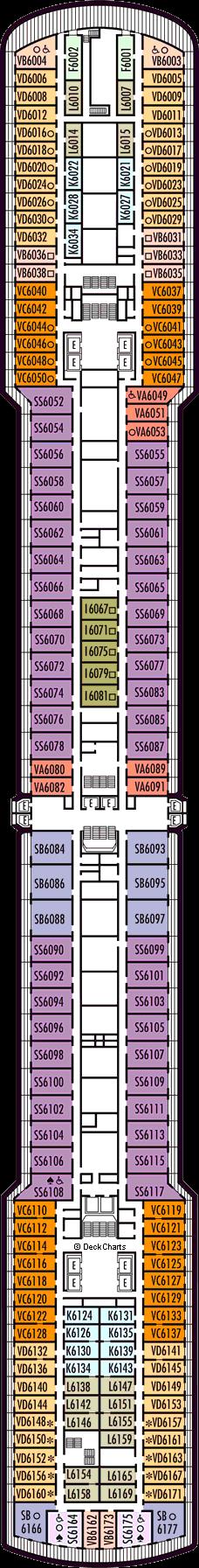 Oosterdam: Upper Verandah Deck