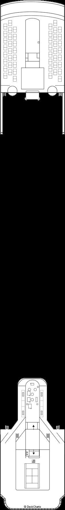 MSC Sinfonia: Shubert Deck