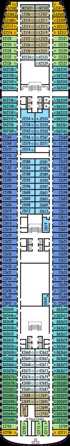 Volendam: Main Deck