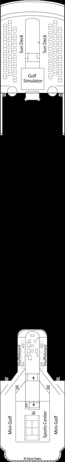 MSC Sinfonia: Schubert Deck / Games Deck