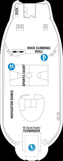 Navigator of the Seas: Deck 13