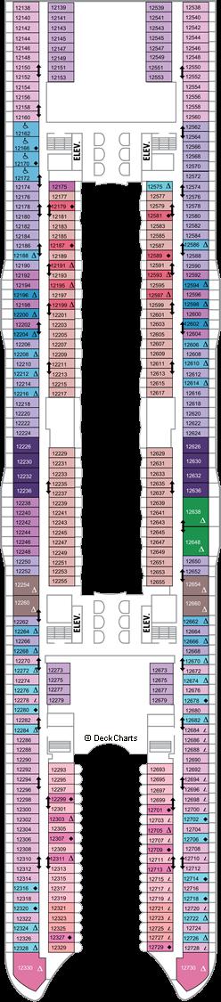 Allure of the Seas: Deck 12