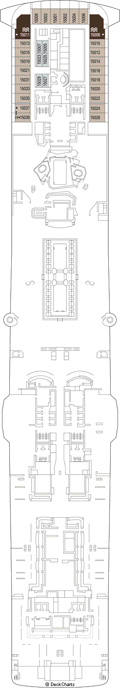 MSC Grandiosa Deck Plans, Ship Layout & Staterooms ...