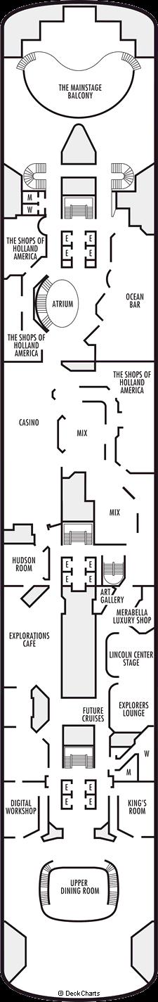 Zaandam: Upper Promenade Deck