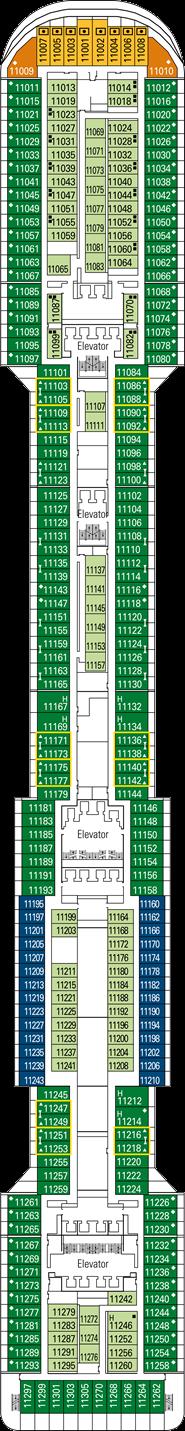 MSC Preziosa: Giada Deck