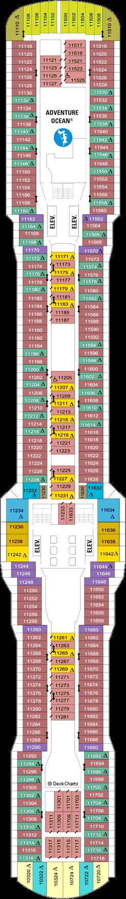 Quantum of the Seas: Deck 11