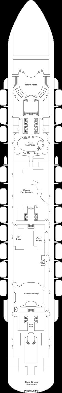 Costa Venezia: Deck 4