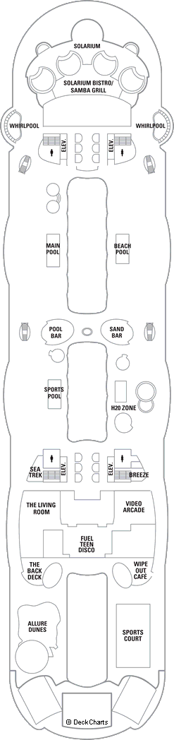 Allure of the Seas: Deck 15