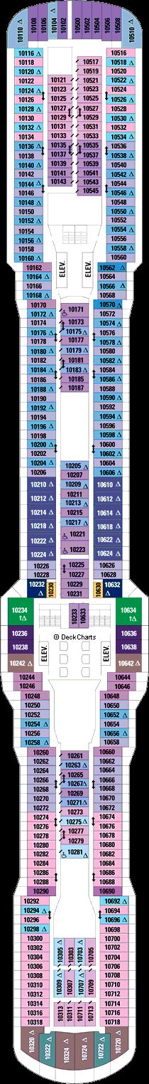 Quantum of the Seas: Deck 10
