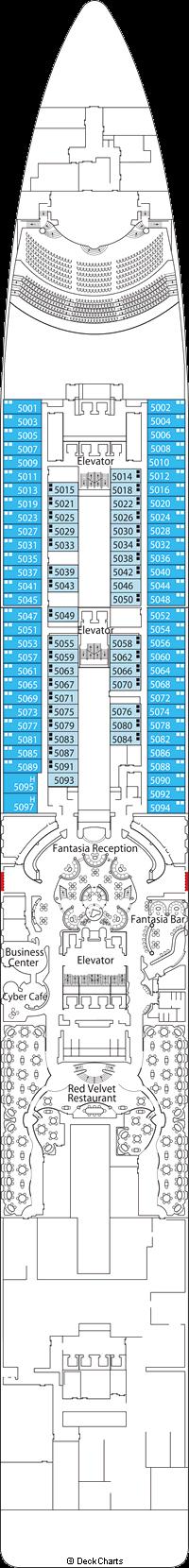 MSC Fantasia: Fantasia Deck