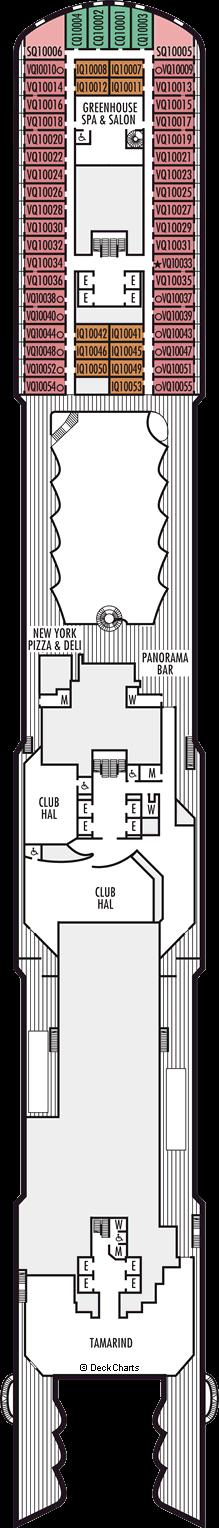 Koningsdam: Panorama Deck