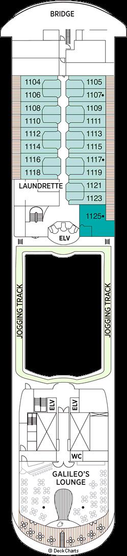 Seven Seas Navigator: Deck 11