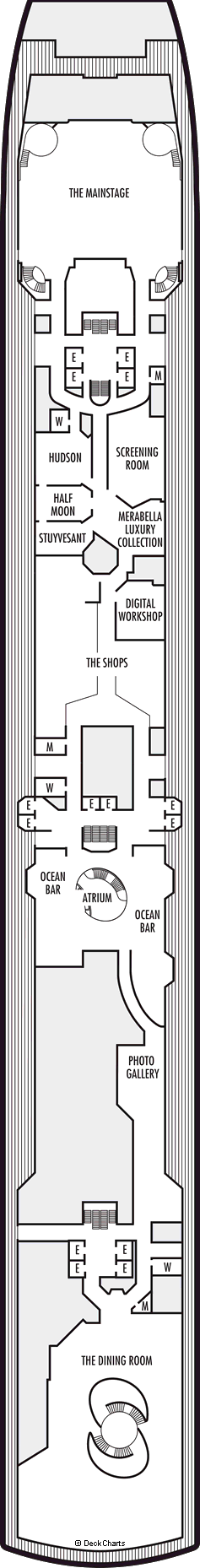 Oosterdam: Promenade Deck