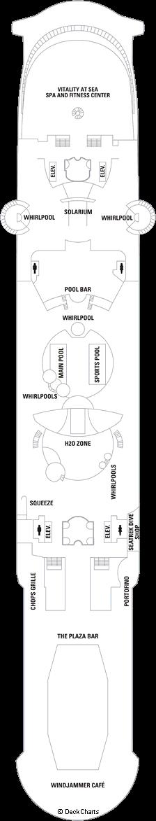 Liberty of the Seas: Deck 11