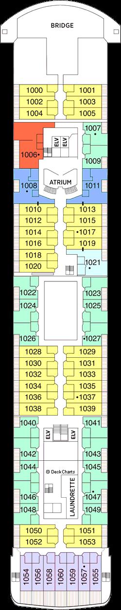 Seven Seas Voyager: Deck 10